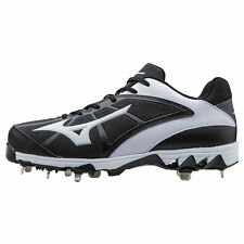 Mizuno Women's 9-Spike Select 2 Metal Fastpitch Softball Cleats - 320511 - Black