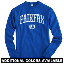 Fairfax Los Angeles Long Sleeve T-shirt LS - Dodgers Lakers LA Cali  Men / Youth