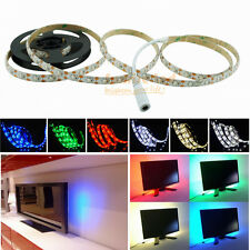 LED Strip Light USB Battery Operated 4.5V 0.5-2M Multi Color + Connector Cable