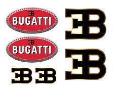 Bugatti vinyl decal set