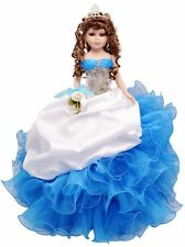 "18"" Quinceanera Doll AVAILABLE IN MOST COLORS"