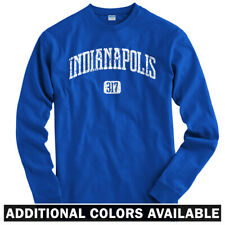 Indianapolis 317 Long Sleeve T-shirt LS - Indiana Pacers 500 Colts - Men / Youth