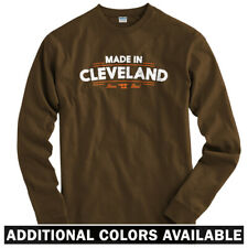 Made in Cleveland V2 Long Sleeve T-shirt LS - Browns Cavs Indians -  Men / Youth