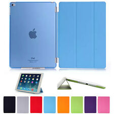 New Smart Magnetic Leather Case Cover & Transparent Back For Apple iPad Air 2