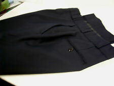 FECHHEIMER NAVY BLUE 75/25 POLY WOOL UNIFORM WORK DRESS PANTS