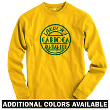 Carioca Long Sleeve T-shirt LS - Vintage Sign Cafe Spanish Santander Men / Youth