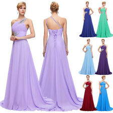 2016 Long Chiffon Bridesmaid Formal Gown Dress Ball Party Cocktail Evening Prom