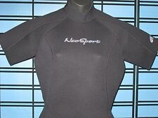 NeoSport by Henderson Women's 3mm neoprene Shorty Wetsuit - Black