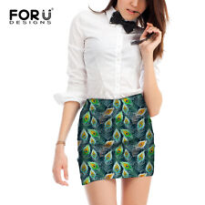 Funny Womens Stretch High Waist Short Skirts Fashion Bodycon Mini Skirt Dress