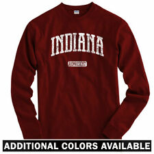 Indiana Represent Long Sleeve T-shirt LS - Notre Dame Purdue State - Men / Youth
