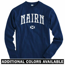 Nairn Scotland Long Sleeve T-shirt LS - Rugby Inverness Scottish - Men / Youth