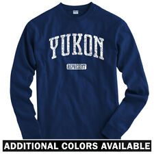 Yukon Represent Long Sleeve T-shirt LS - Territory Canada Denali - Men / Youth
