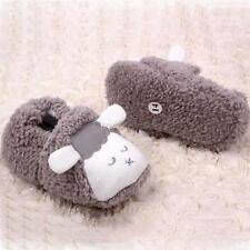 Baby Infant Boys Girls Winter Warm Soft Sole Crib Shoes Soft Slippers 0-12M U55