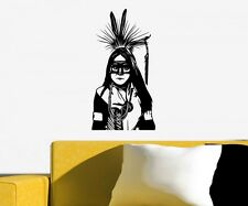 Wall Decal Indian Child Boy Western India Wall Stickers 5A030