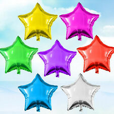 "20"" Inch/50.8cm Foil Star Balloon 16 Colours To Choose - Helium Metallic Wedding"