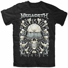 Megadeth Red Bones 13 T-Shirt Small Black Officially Licensed Heavy Metal New