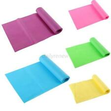 Fitness Sweet Color GYM Yoga Pilates Rubber Stretch Resistance Exercise Band D30