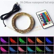 Christmas Lamp Light LED Strip USB Remote Control New Year Wedding Party Meeting