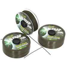 Korda Carp Fishing NEW N-Trap Soft Coated Braid Hooklink - All Sizes & Colours