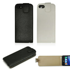 Ultra Slim Leather Magnetic Vertical Flip Case Cover For Apple iPhone 5 5s SE