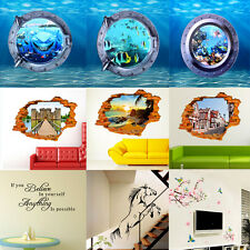 DIY Fashion Creative Removable Wall Stickers Art Vinyl Decal Home Decor Mural