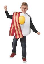 Boys Girls Child BACON & EGG Costume size S/M L/XL eggs Breakfast suit dress up