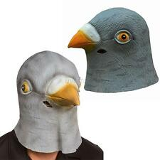 Novelty Latex Pigeon Birds Head Mask Animal Halloween Costume Theater Prop U50