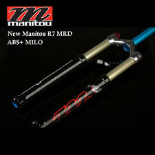 "Manitou R7 MRD MTB 26"" ABS+ Manual MILO Remote Lockout 100mm Suspension Air Fork"