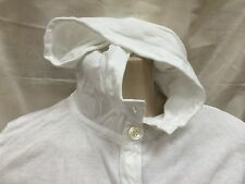 james perse wmr3305 white ribbed l/s tee shirt with hood  run small  womens new