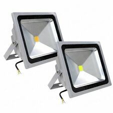 LED 12V DC 50 Watt Cool / Warm White Outdoor Flood Light Garden Yard Spot Light