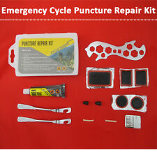 15pcs PUNCTURE REPAIR KIT TYRE WHEEL BIKE BICYCLE QUICK FIXING kit IN CARRY CASE