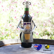 BBQ Chef wine bottle holder, Man Cave Novelty, BBQ  utensil collectable!!