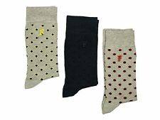 MENS SOCKS NEW FRENCH CONNECTION MULTI PACK IN GREY NAVY GREY COLOUR ONE SIZE