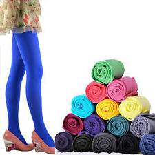 All-Match Warm Soft  Footed Thick Opaque Stockings Pantyhose Solid Color Tights