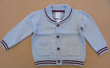 Gymboree Boy's Knit Grey Argyle Cardigan NWT Retail $33