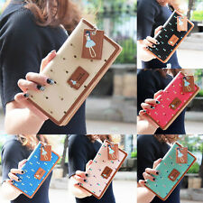 New Fashion Lady Women Long Purse Clutch Wallet Zip Bag Card Holder organizers