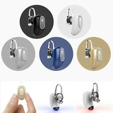 Firefly Super Mini Earhook Stereo Bluetooth Headphones with Noise Reduction Mic