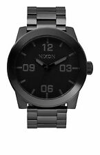NIXON Corporal SS All Black WATCH NEW A346 001 WATCHES