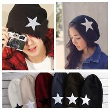 Unisex Men/Women Warm Winter Beanie Slouchy Ski Hat Oversize Hip Hop Star Cap