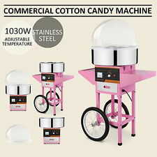 Commercial Cotton Candy Machine Electric 1030W Floss Maker Party Carnival