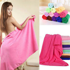 Large Microfibre Cotton Body Beach Bath Towel Sports Travel Camping Gym