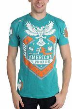 AMERICAN FIGHTER By AFFLICTION Mens T Shirt S M L XL 2XL 3XL 4XL WOODBURY FM2032