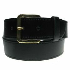 "New Mens Full Real Leather Belt Made in England 28""-60"" Trousers and Jeans"