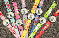 Cartoon Minions Child Boy Kids Sports Leather Strap Quartz Wrist Watch Xmas Gift