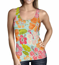 Aloha Ladies Tank Top - Sizes XS-3XL Activewear