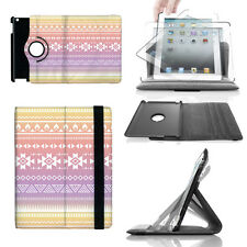 Aztec Tribal Ombre 360 Rotate Case - fits iPad Kindle Samsung Galaxy