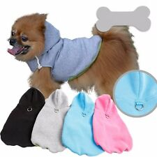 1PCS Hooded Dog Puppy clothes Teddy Bichon Puppy  Autumn Clothes Pet Sweater