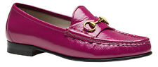 Gucci Women's Pink patent leather 1953 Horsebit Loafers Shoes