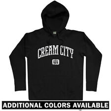 Cream City 414 Milwaukee Hoodie - WI Wisconsin Bucks Brewers Beer - Men S-3XL