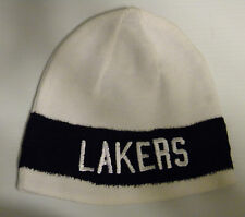 Los Angeles Lakers Adidas Reversible Beanie Cuffless Knit